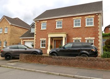 Thumbnail 6 bed detached house for sale in Clos Cribyn, Beacon Heights, Merthyr Tydfil