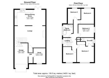 Thumbnail 5 bedroom detached house for sale in Gainsborough Crescent, Wolviston Grange, Billingham
