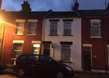 Thumbnail 3 bed terraced house to rent in Wimborne Road, Luton