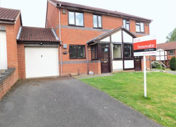 Thumbnail 3 bed semi-detached house to rent in Fox Foot Drive, Brierley Hill