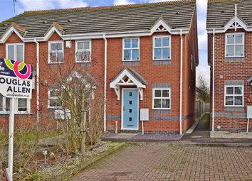 Thumbnail 2 bed end terrace house for sale in Ruthven Close, Wickford, Essex
