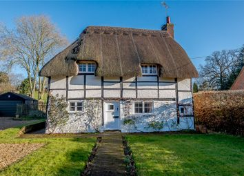 Thumbnail 3 bed detached house for sale in Gangbridge Lane, St. Mary Bourne, Andover, Hampshire