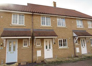 Thumbnail 3 bedroom terraced house for sale in Laburnum Close, Wymondham