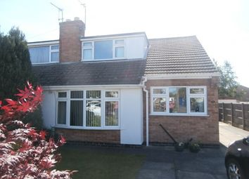 Thumbnail 3 bed semi-detached house to rent in Tiverton Road, Loughborough
