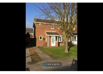 Thumbnail 2 bed semi-detached house to rent in Castle Way, Pegswood