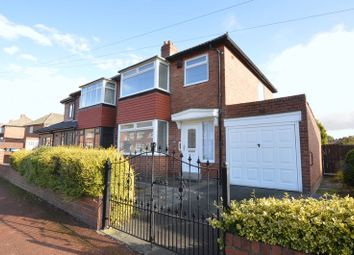 Thumbnail 3 bed semi-detached house for sale in Silver Lonnen, Fenham, Newcastle Upon Tyne