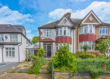 Thumbnail 3 bed semi-detached house for sale in St. Marys Crescent, London