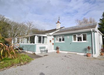 Thumbnail 4 bed detached bungalow for sale in Tresowes, Ashton, Helston