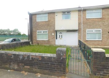 Thumbnail 3 bed end terrace house to rent in Stonedale Crescent, Norris Green, Liverpool