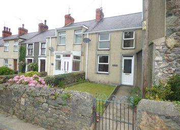 Thumbnail 2 bed terraced house for sale in Efailnewydd, Pwllheli, Gwynedd