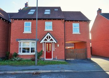 Thumbnail 6 bed detached house for sale in Glamorgan Way, Church Gresley, Swadlincote