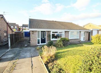 Thumbnail 2 bed semi-detached bungalow for sale in Hollins Close, Ashton-In-Makerfield, Wigan