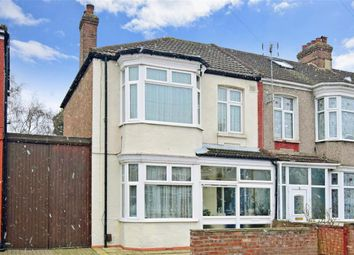 Thumbnail 3 bed end terrace house for sale in Uckfield Grove, Mitcham, Surrey
