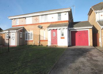 Thumbnail 3 bed semi-detached house for sale in Wallhouse Road, Slade Green, Erith