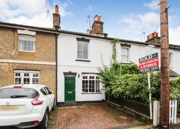 Thumbnail 3 bed terraced house to rent in Dennis Road, East Molesey