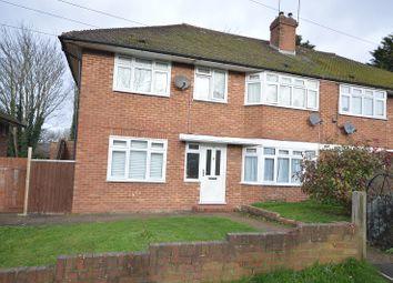 Thumbnail 2 bed maisonette for sale in Garrison Lane, Chessington, Surrey.