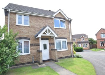 Thumbnail 3 bed detached house for sale in Holly Close, Scunthorpe