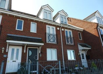 Thumbnail 3 bed terraced house for sale in Riverside Road, Gorleston, Great Yarmouth