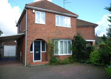 Thumbnail 3 bedroom property to rent in Heartsease Lane, Norwich, Norfolk