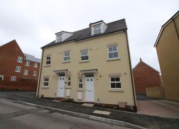 Thumbnail 3 bedroom semi-detached house for sale in Truscott Avenue, Redhouse, Swindon