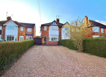 Thumbnail 2 bed semi-detached house for sale in Cropston Road, Anstey, Leicestershire