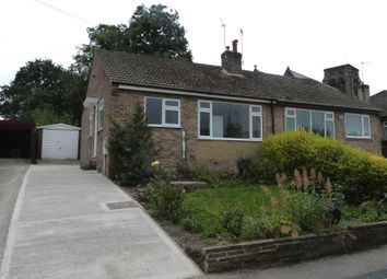 Thumbnail 2 bed bungalow to rent in Hill Top Walk, Harrogate