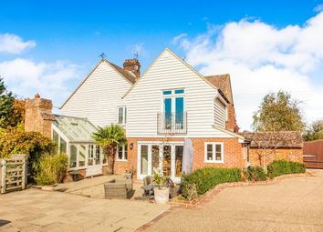Thumbnail 3 bed equestrian property for sale in Line Cottages, Crundale, Canterbury, Kent