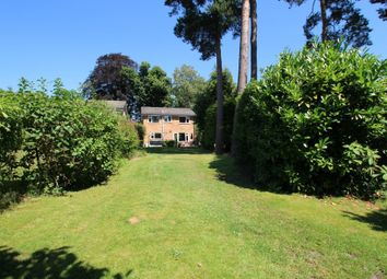 Thumbnail 4 bed detached house to rent in Sandhurst Road, Finchampstead, Wokingham