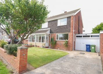 Thumbnail 3 bed semi-detached house for sale in Weardale Avenue, Sunderland