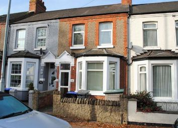 Thumbnail 3 bed terraced house for sale in Glan Y Mor Terrace, Kingsthorpe, Northampton