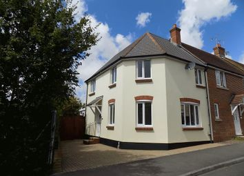Thumbnail 3 bed end terrace house for sale in Talbothays Road, Dorchester
