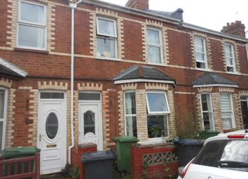 Thumbnail 3 bed terraced house to rent in Wellington Road, Exeter