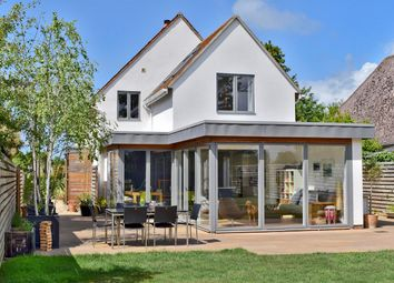 Thumbnail 4 bed detached house for sale in Church Lane, Pilley, Lymington
