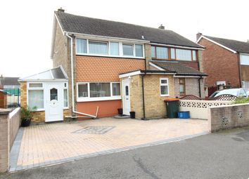 Thumbnail 3 bed semi-detached house for sale in Hillview Crescent, Newport