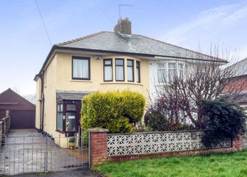 Thumbnail 3 bedroom semi-detached house for sale in Highfield Road, Barry