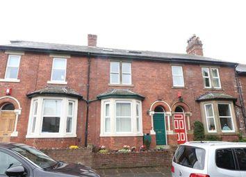 Thumbnail 4 bed terraced house for sale in Rosebery Road, Carlisle, Cumbria