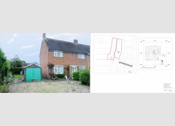 Thumbnail 3 bed semi-detached house for sale in Sparkenhoe, Newbold Verdon, Leicester