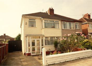 Thumbnail 3 bed semi-detached house for sale in Trent Avenue, Liverpool