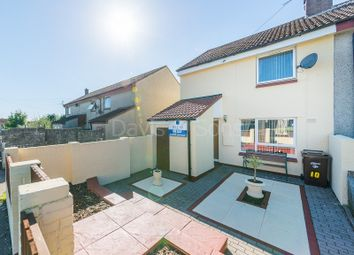 Thumbnail 2 bed end terrace house for sale in Mynyddislwyn Close, Pontllanfraith, Blackwood, Caerphilly.