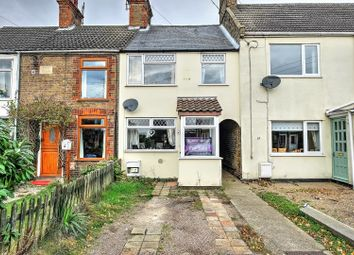 Thumbnail 3 bed terraced house for sale in The Street, Lowestoft