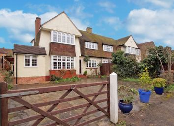 Thumbnail 3 bed semi-detached house to rent in Reigate Road, Epsom