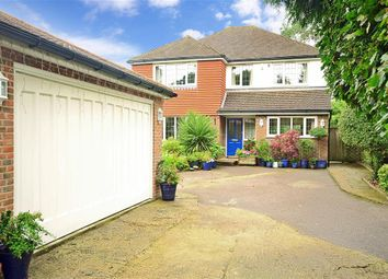 Thumbnail 4 bed detached house for sale in Randalls Road, Leatherhead, Surrey