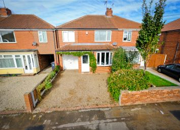 Thumbnail 4 bed semi-detached house for sale in Crompton Avenue, Doncaster