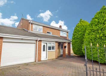 Thumbnail 4 bed detached house for sale in Woburn Drive, Bedlington