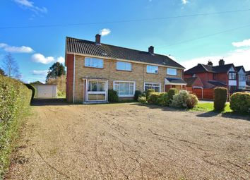 Thumbnail 3 bed semi-detached house for sale in Spixworth Road, Old Catton, Norwich