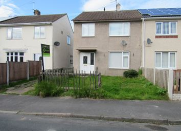 Thumbnail 3 bed semi-detached house to rent in Cherry Grove, Rossington, Doncaster