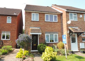 Thumbnail 3 bed end terrace house for sale in The Dell, North Common, Bristol