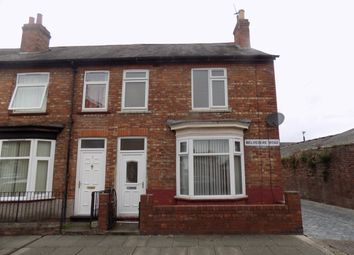 Thumbnail 3 bed terraced house to rent in Belvedere Road, Darlington