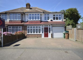 Thumbnail 4 bed semi-detached house to rent in Brocks Drive, Cheam, Surrey