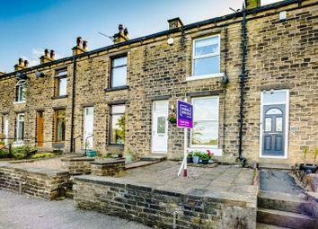 Thumbnail 3 bed terraced house for sale in Lindley Street, Milnsbridge, Huddersfield
